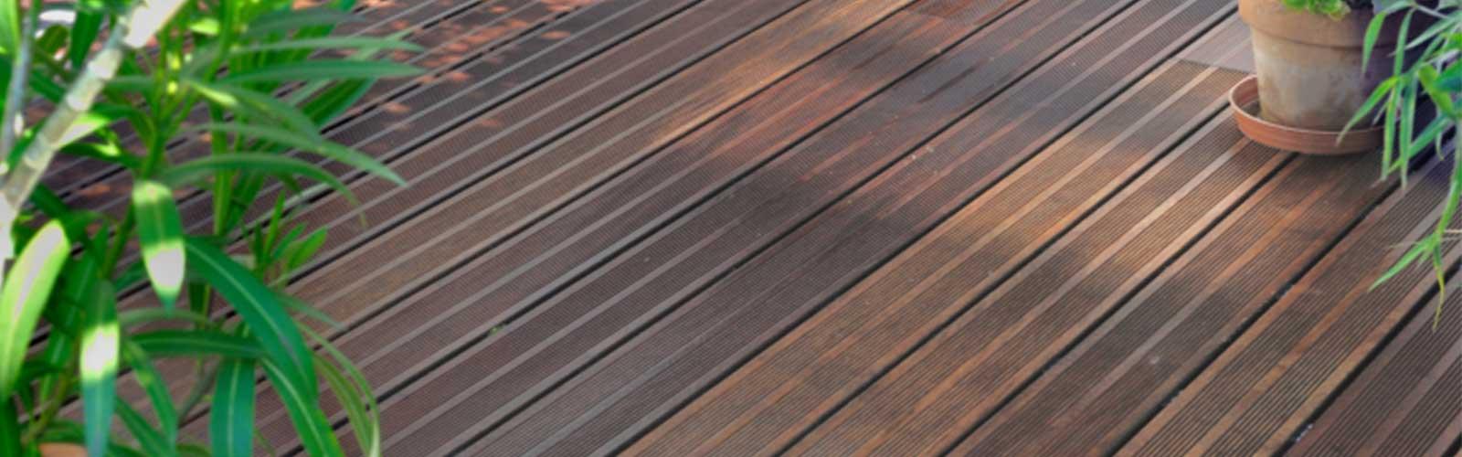 Wooden Terrace Deck